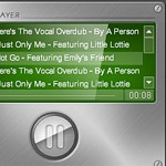 Flash audio player 8